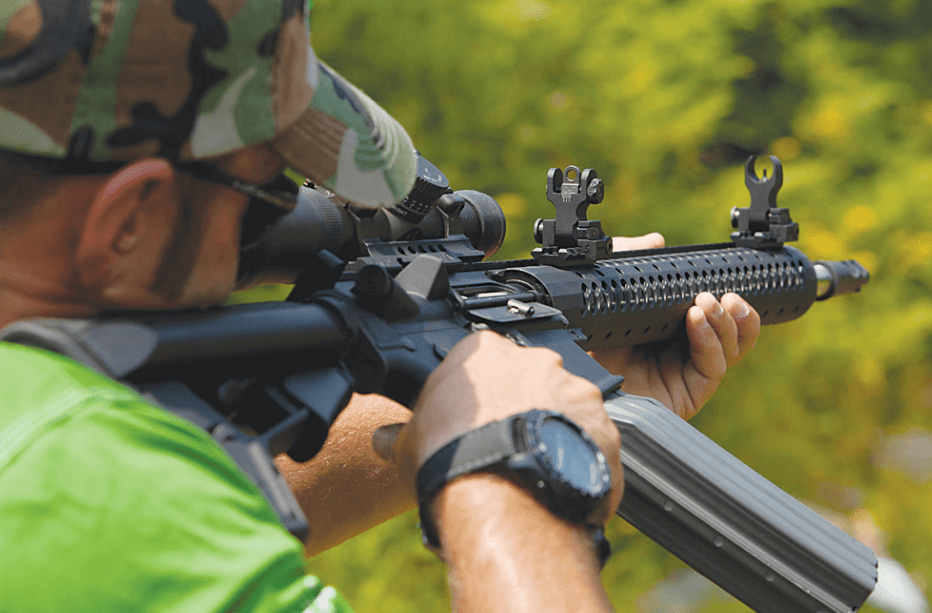 How To Use AR15 Iron Sights