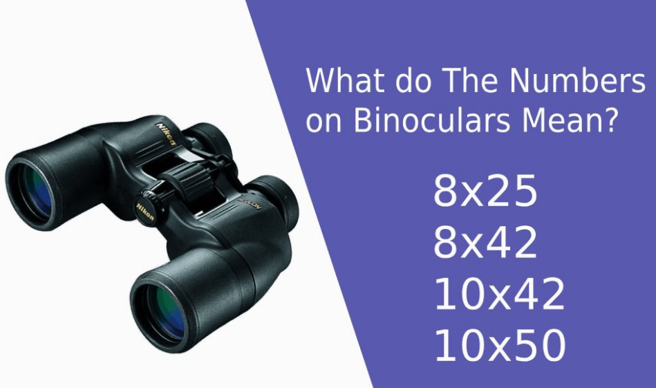 Numbers On Binoculars Mean